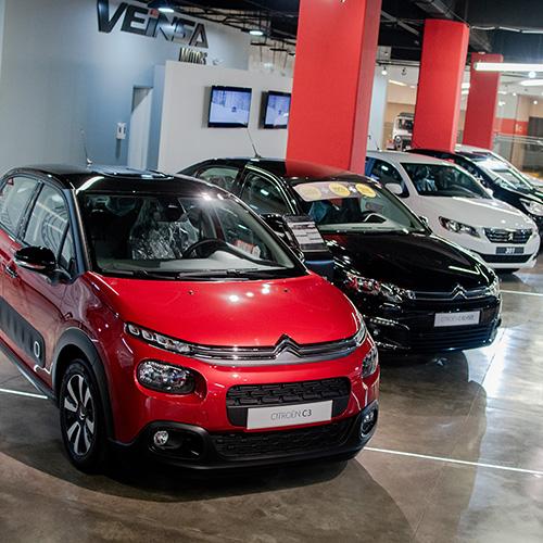 Autos nuevos en agencia de carros - Contacto - Veinsa Motors