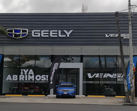 Geely La Uruca
